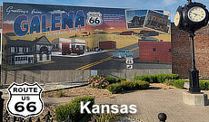 Route 66 Road Trip across Kansas