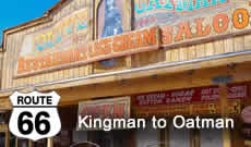 Route 66 Road Trip from Kingman to Oatman, Arizona