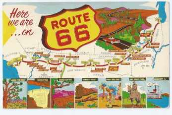Historic U.S. Route 66 Travel Guide and Trip Planner, tips ...