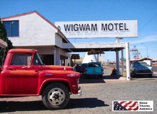 Wigwam Motel in Holbrook, Arizona