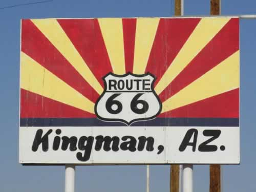 Welcome to Kingman, Arizona, and Historic Route 66