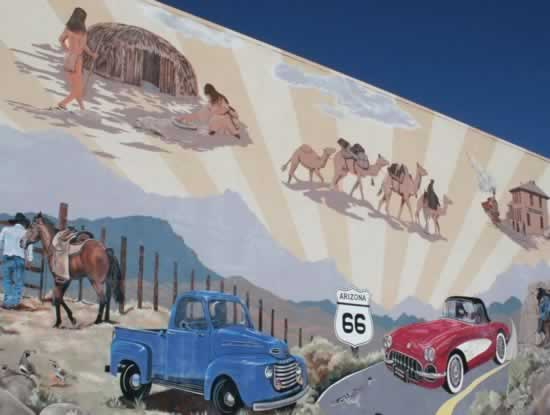 Mural in Kingman, Arizona
