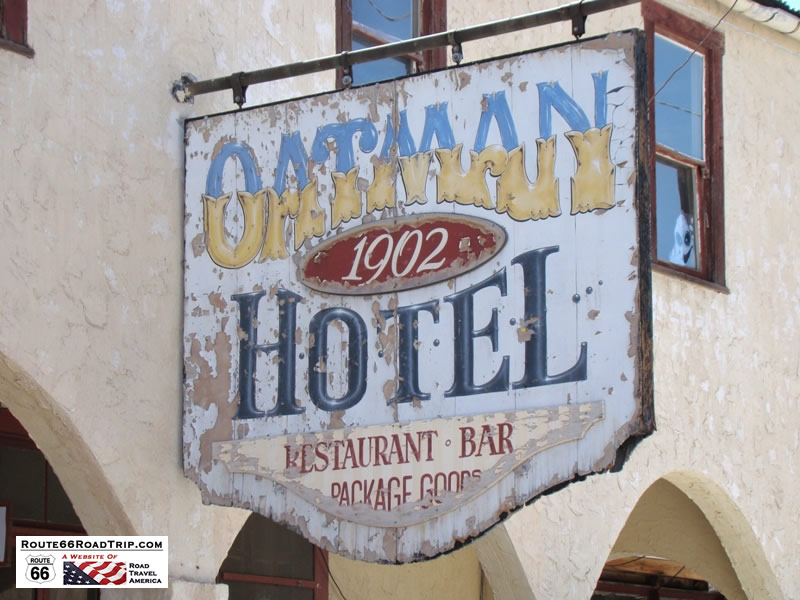 Oatman Hotel, dating to 1902