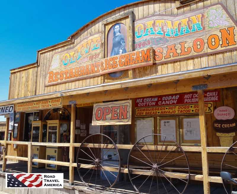 Olive Oatman Restaurant, Ice Cream and Saloon
