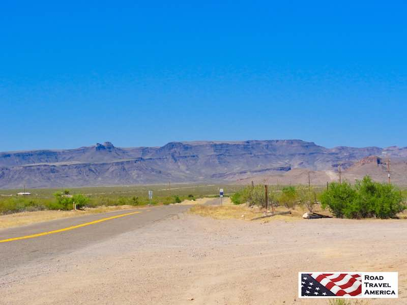 Route 66 heading westbound from Kingman to Oatman