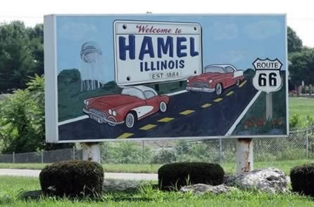 Welcome to Hamel, Illinois