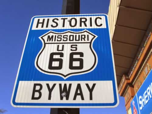 Historic U.S. Route 66 Byway in Missouri