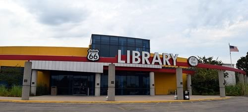 Route 66 Museum and Library in Lebanon, Missouri