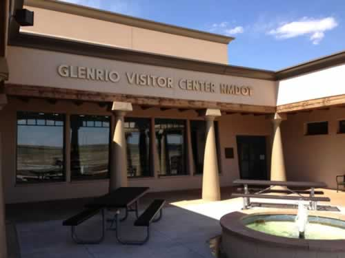 Glenrio Visitor Center operated by New Mexico DOT