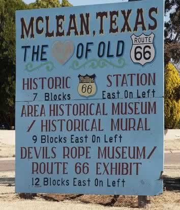 McLean Texas ... the Heart of Old Route 66
