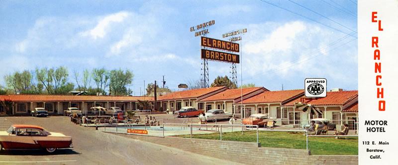 Rancho Motors Victorville >> Historic U S Route 66 Across California From Needles To Santa