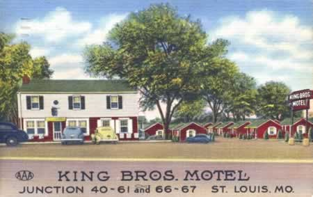King Bros Motel, Historic Route 66, St. Louis, Missouri