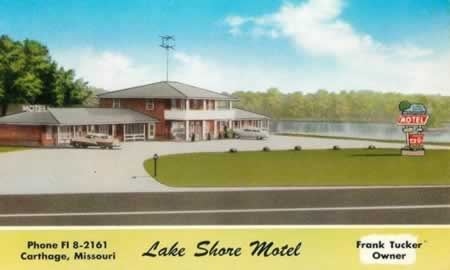 Lake Shore Motel in Carthage, Missouri