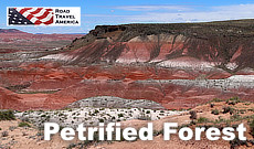 Petrified Forest National Park in Arizona on Historic U.S. Route 66